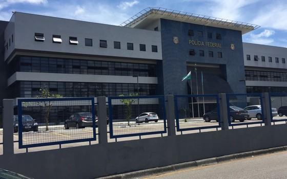 Superintendência da Polícia Federal em Curitiba (Foto: Bárbara Lobato/ÉPOCA)