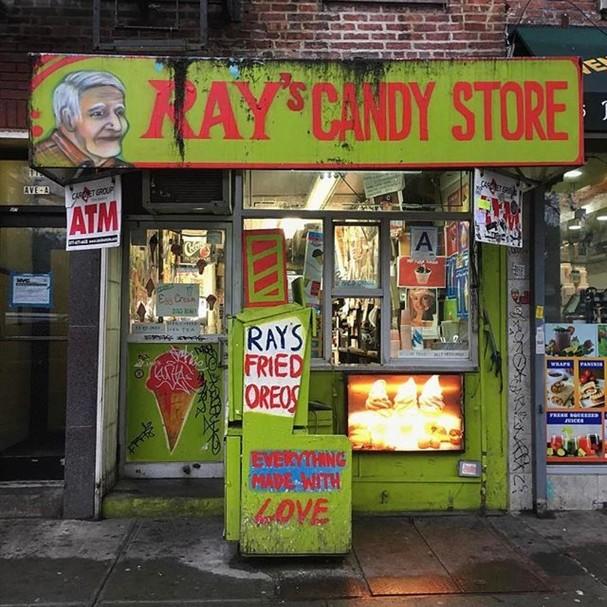 Ray's Candy Store (Foto: Instagram/Reprodução)