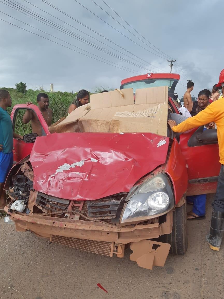 Quatro pessoas ficam feridas em três acidentes nas rodovias federais do Maranhão - Notícias - Plantão Diário
