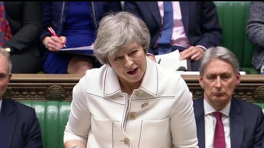 Brexit está em perigo, alerta premiê May antes de votação de acordo no Parlamento britânico