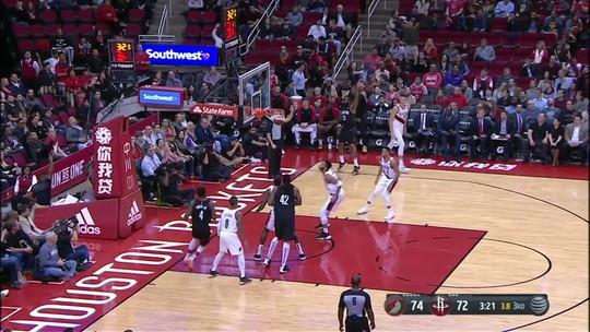Com Harden decisivo e Nenê como nos bons tempos, Rockets vencem os Blazers