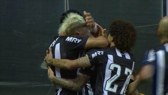 Dois gols em dois jogos e boas atuações: Róger Guedes recupera espaço no Galo