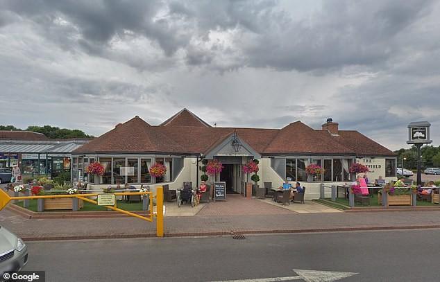 Entrada do restaurante (Foto: Gloucestershire Live)
