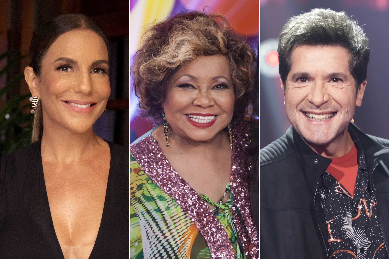Lives de Dia das Mães: Ivete, Fafá de Belém, Daniel com Alexandre Pires e mais shows hoje