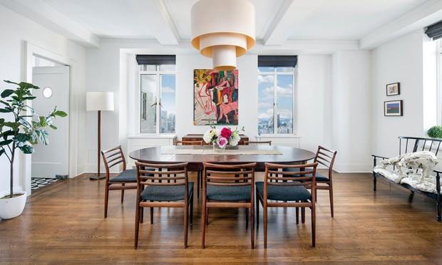 Apartamento famoso em Nova York foi o primeiro adquirido por Diane Keaton (Foto: Divulgação / Corcoran)