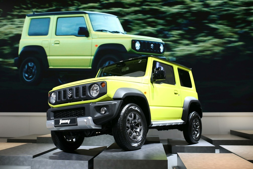Suzuki Jimny — Foto: Divulgação