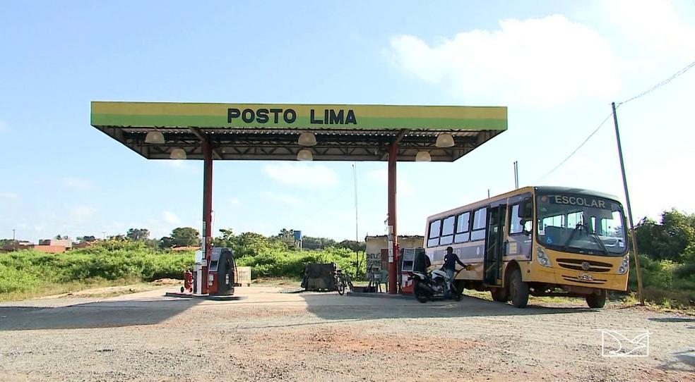 Posto Lima também é alvo de investigação por irregularidades na prestação de serviço para a Prefeitura (Foto: Reprodução/TV Mirante)
