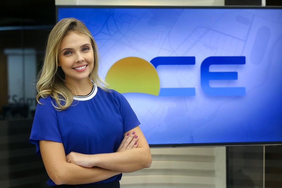Jornalista Da Tv Verdes Mares Taís Lopes Apresentará Edição