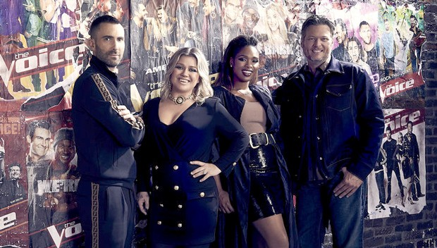 Jurados da temporada 15 do reality The Voice (Foto: Divulgação)