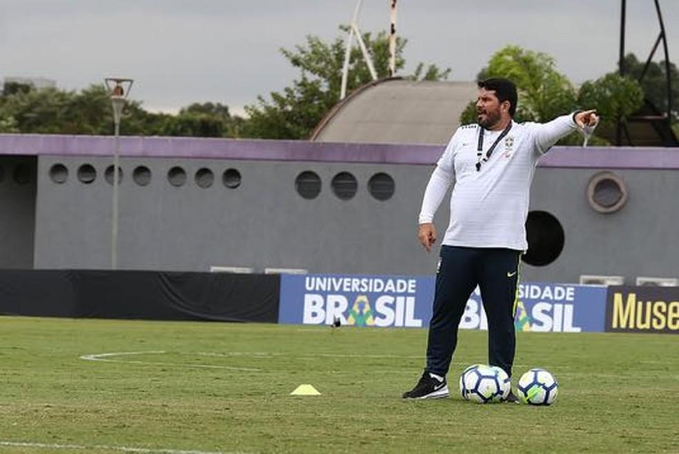 Barroca foi auxiliar da Seleção Brasileira Sub-17 (Foto: Arquivo Pessoal)