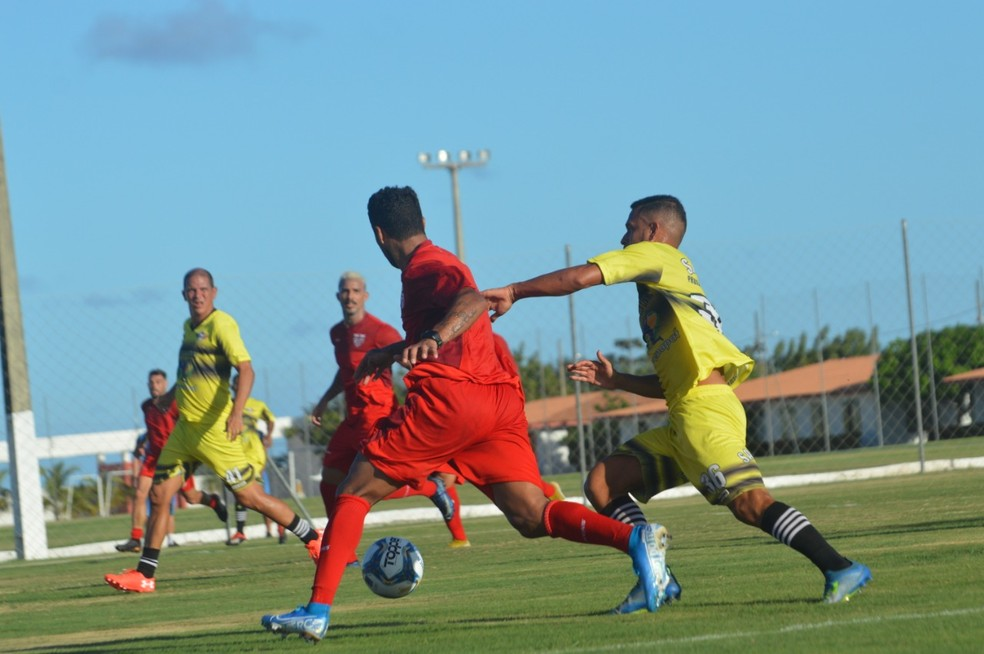 CRB não tomou conhecimento do Sindicato dos Atletas — Foto: Gustavo Henrique/ASCOM CRB