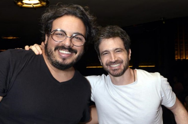 Luis Lobianco e Caco Ciocler (Foto: Cristina Granato)