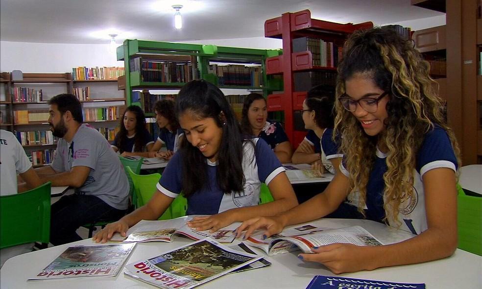 -  Alunos vão participar da Olímpiada Nacional em História do Brasil  Foto: Reprodução/Tv Verdes Mares