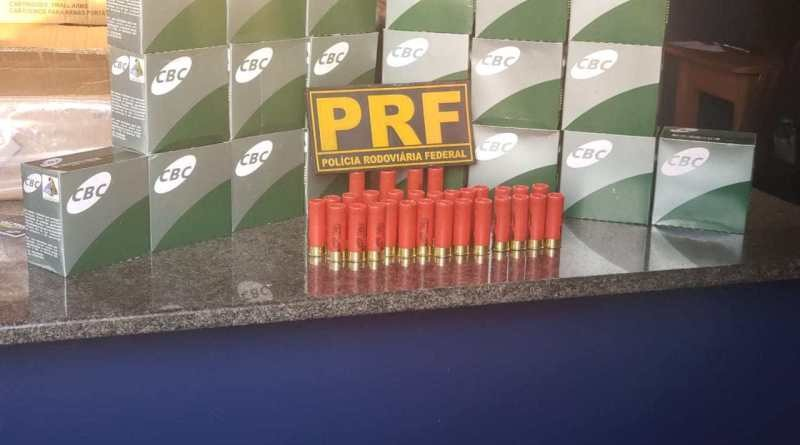 Homem é preso com 600 munições em ônibus de turismo na BR-174 em Boa Vista - Notícias - Plantão Diário