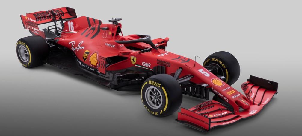 Modelo SF1000 tentará levar Ferrari a acabar com jejum de títulos — Foto: Divulgação/Ferrari