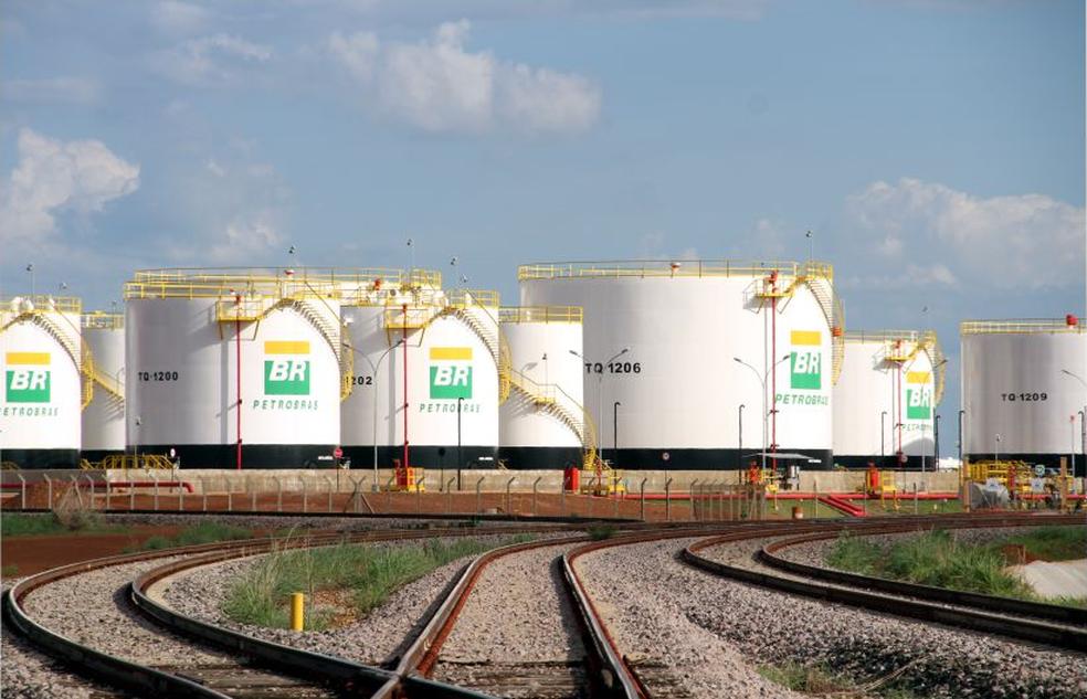 Centro de Distribuição de Combustíveis da Petrobrás em Porto Nacional (Foto: Divulgação/Governo do Tocantins)
