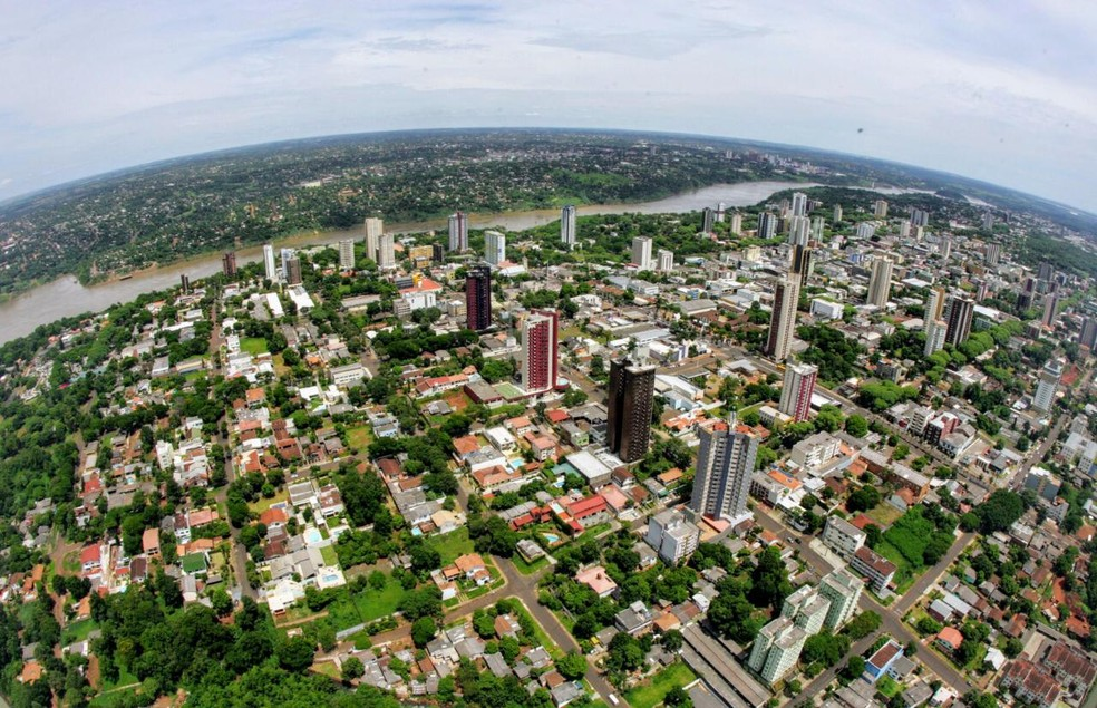 Prefeitura de Foz do Iguaçu reorganizou 330 lotamento em 37 bairros — Foto: Prefeitura de Foz do Iguaçu/Divulgação