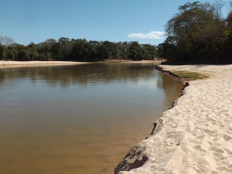Rio Garças, em Barra do Garças — Foto: Ivan de Jesus/Centro América FM Araguaia