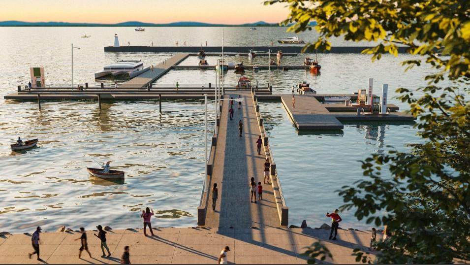 Beach clubs, mercados e esportes: veja os projetos do parque e da marina em Florianópolis