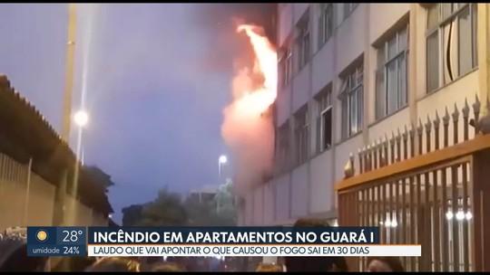 Fogo atinge três apartamentos no Guará I