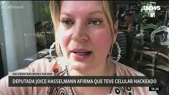 Deputada Joice Hasselmann diz que teve celular clonado