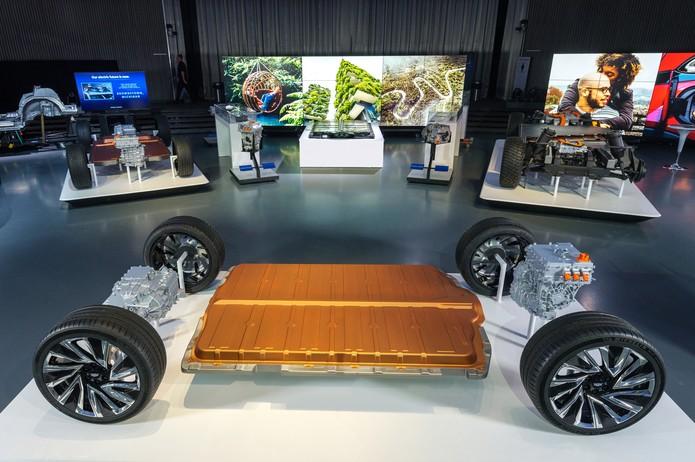 Novas baterias da General Motors  — Foto: Divulgação