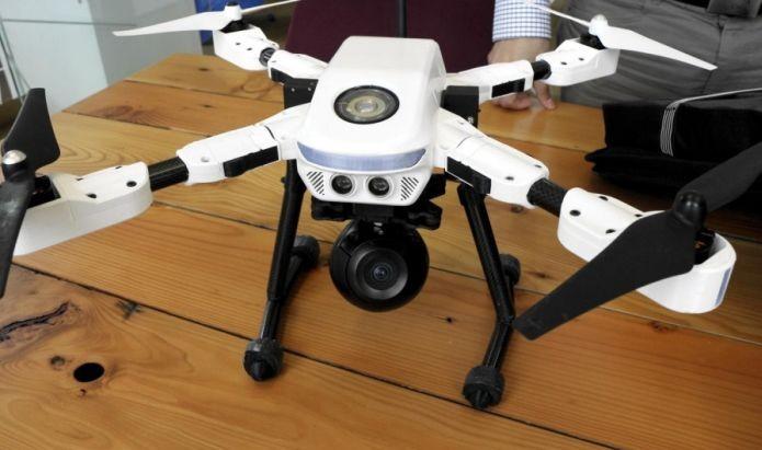 Plexidrone equipado com câmera (Foto: Divulgação)