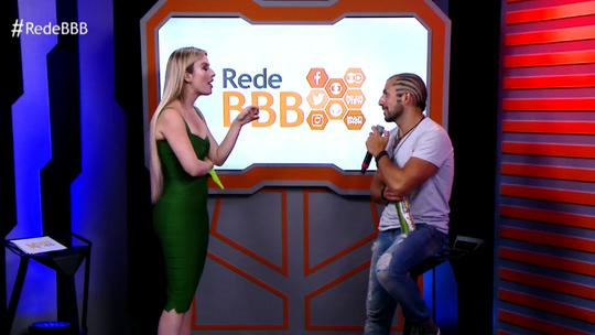Bate-papo BBB! Kaysar dança a música 'Automaticamente' com Fernanda Keulla