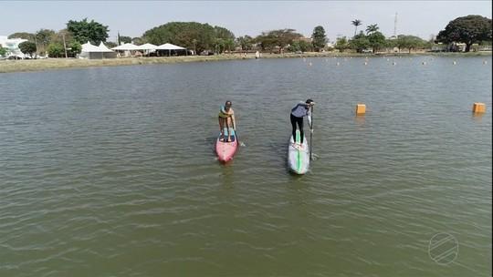 Campo Grande sedia etapa do campeonato brasileiro de stand up paddle