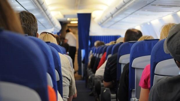 Passageiros em voo / avião (Foto: Pexels)
