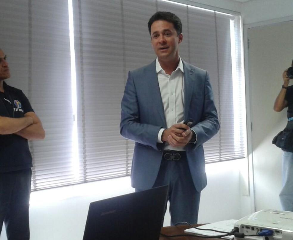 Anderson Ferreira foi assaltado no distrito de Bonança (Foto: Danielle Fonseca/TV Globo)