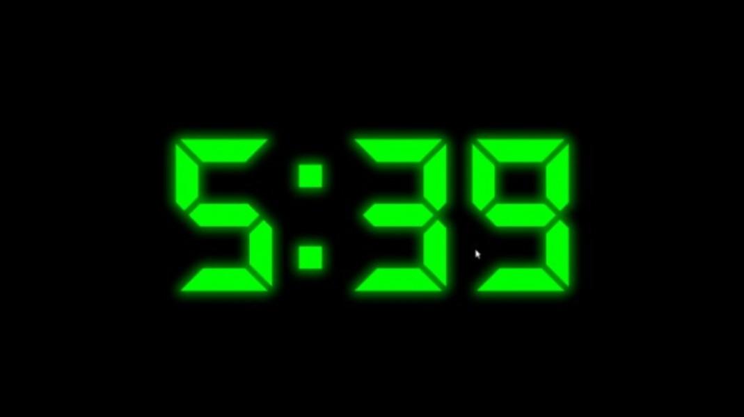 3f0e3c81e Proteção de tela Digital Clock | Download | TechTudo
