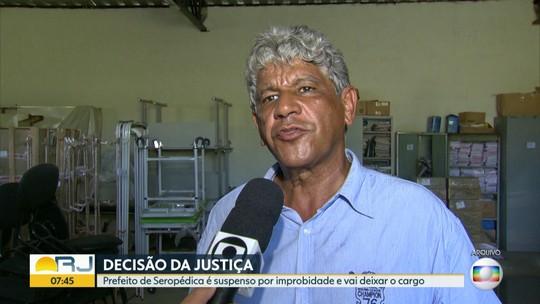 Justiça suspende prefeito de Seropédica