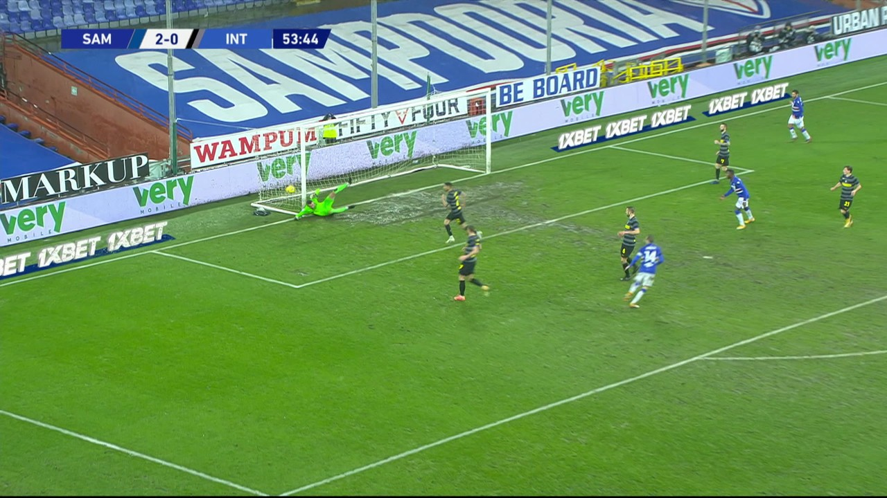 Melhores momentos de Sampdoria 2 x 1 Internazionale pela 16ª rodada do Campeonato Italiano