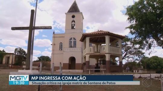 MPE ajuíza ação por precariedade na Igreja Matriz de Santana de Patos