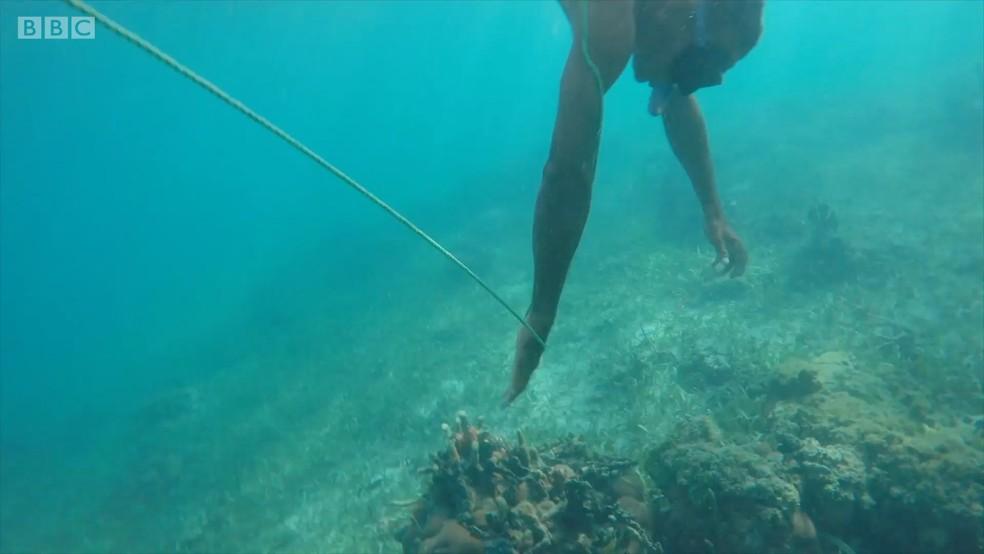 Ilha faz parte do arquipélago de San Bernardo (Foto: BBC)