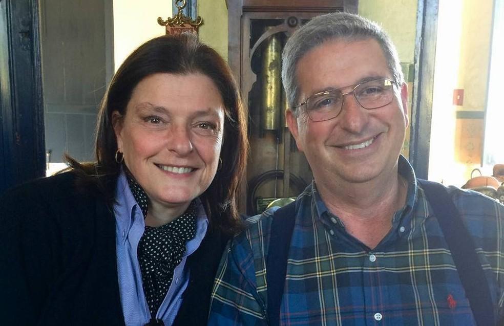 Maria de Lurdes e o marido Adriano Ribeiro da Silva moravam em São José do Rio Pardo; processo sobre as mortes deles segue separado — Foto: Reprodução/Facebook