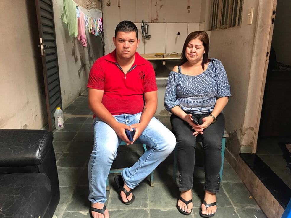 Família criou uma conta bancária para arcar com os custos do translado — Foto: Joana Teles/Inter TV dos Vales