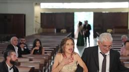 Veja momento da explosão em Beirute durante um casamento no Líbano