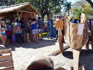 Público esperado para 2014 é de cerca de 80 mil pessoas (Foto: Samantha Silva / G1)