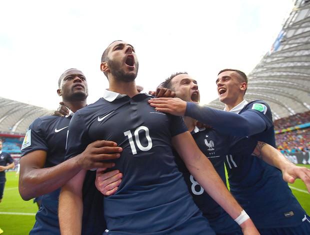 Benzema gol França x Honduras (Foto: Getty Images)