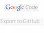Google Code Export to GitHub