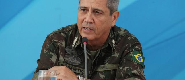 O general Walter Braga Netto, nomeado interventor federal na segurança pública do Rio