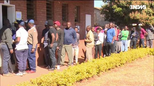 As eleições conturbadas no Zimbábue