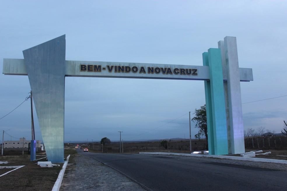 Homem foi preso no município de Nova Cruz — Foto: Leonardo Erys/G1