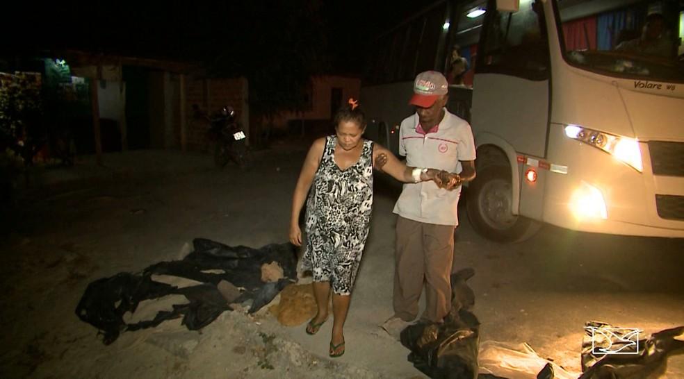Eloísa e o marido precisavam viajar de madrugada para São Luís em busca do serviço de hemodiálise. (Foto: Reprodução/TV Mirante)