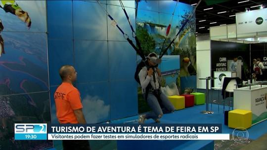 SP recebe feira de esportes e turismo de aventura