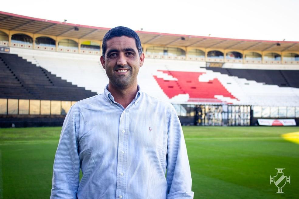 Luiz Mello é CEO do Vasco desde a chegada de Jorge Salgado — Foto: João Pedro Isidro/Vasco