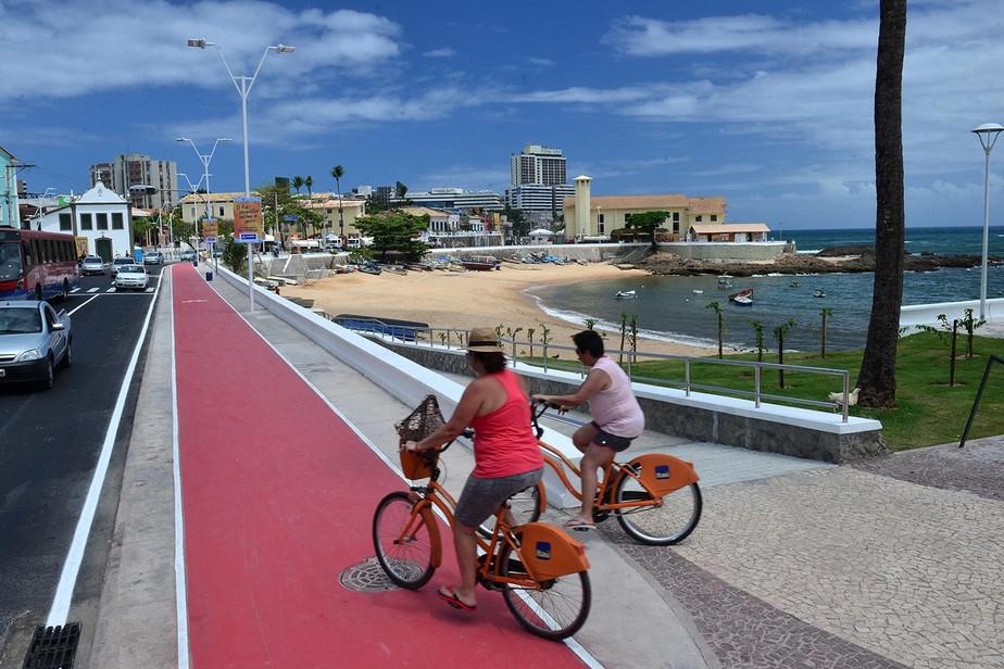 Salvador já tem quase 200 quilômetros de ciclovias