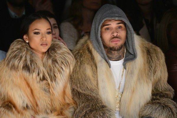 Karrueche Tran e Chris Brown (Foto: Getty Images)